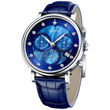 Женские серебряные часы 126.30.00.000.05.04.2
