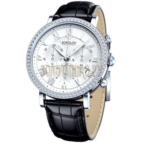 Женские серебряные часы 127.30.00.001.01.01.2