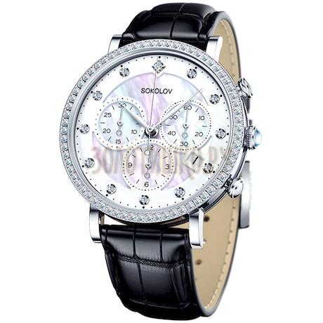 Женские серебряные часы 127.30.00.001.03.01.2