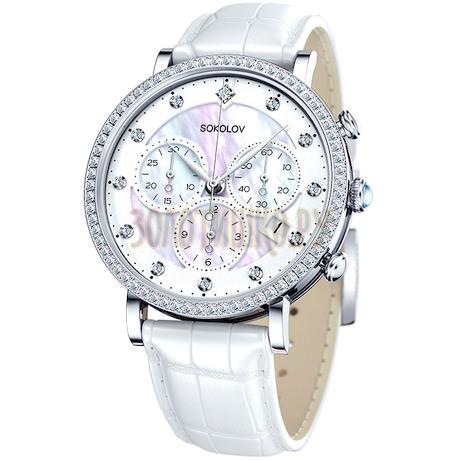 Женские серебряные часы 127.30.00.001.03.02.2