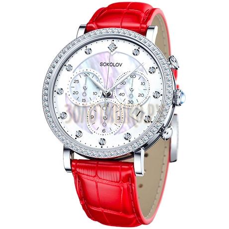 Женские серебряные часы 127.30.00.001.03.03.2