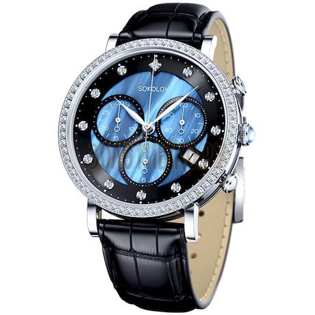 Женские серебряные часы 127.30.00.001.04.01.2