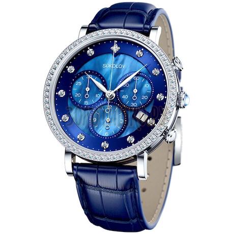Женские серебряные часы 127.30.00.001.05.04.2