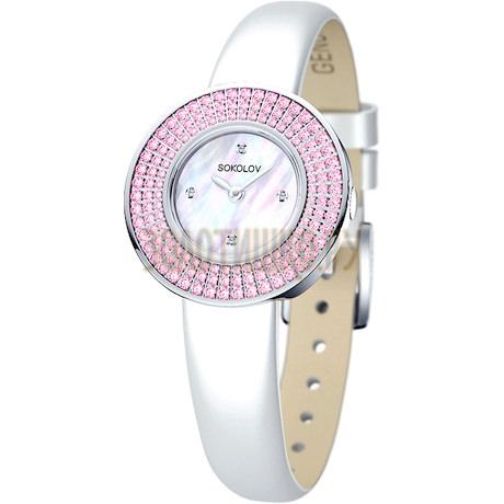 Женские серебряные часы 128.30.00.002.01.02.2