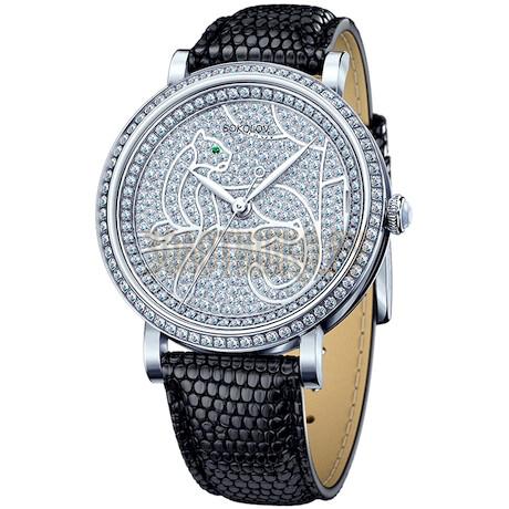 Женские серебряные часы 130.30.00.001.06.01.2