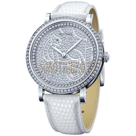 Женские серебряные часы 130.30.00.001.06.02.2
