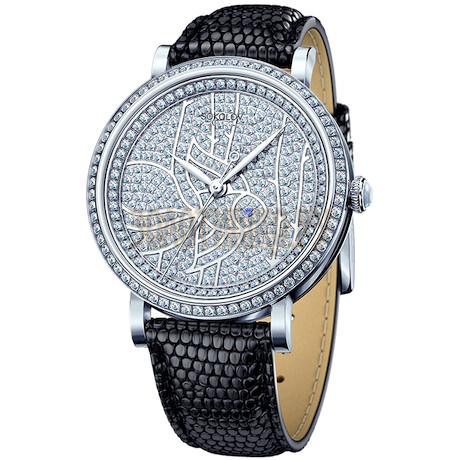 Женские серебряные часы 130.30.00.001.08.01.2
