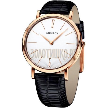 Женские золотые часы 204.01.00.000.05.01.2