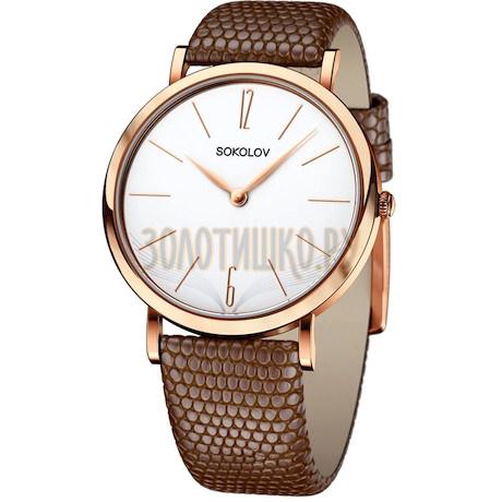 Женские золотые часы 204.01.00.000.05.03.2