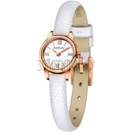 Женские золотые часы 211.01.00.000.01.02.3