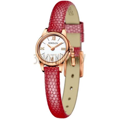 Женские золотые часы 211.01.00.000.01.04.3