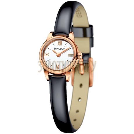 Женские золотые часы 211.01.00.000.01.05.3