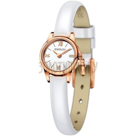 Женские золотые часы 211.01.00.000.01.06.3