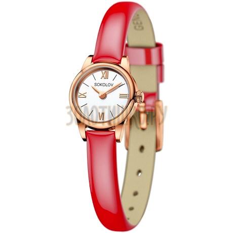 Женские золотые часы 211.01.00.000.01.07.3