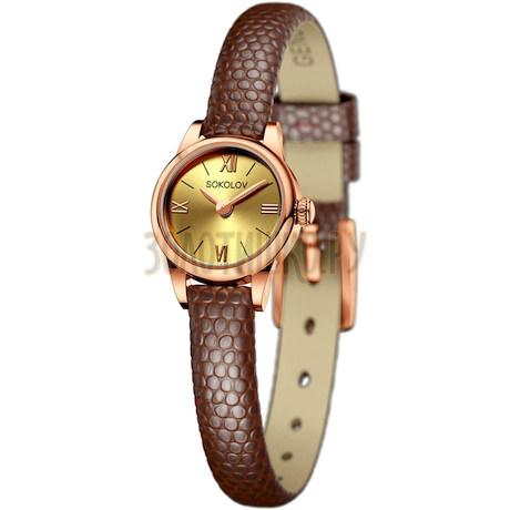 Женские золотые часы 211.01.00.000.02.03.3