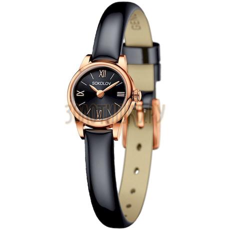 Женские золотые часы 211.01.00.000.03.05.3