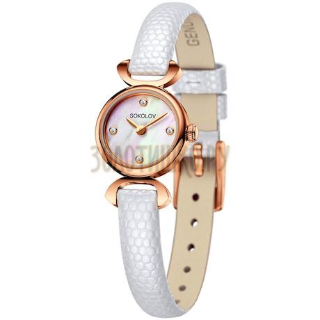 Женские золотые часы 212.01.00.000.01.02.3