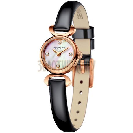Женские золотые часы 212.01.00.000.01.05.3