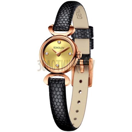 Женские золотые часы 212.01.00.000.02.01.3