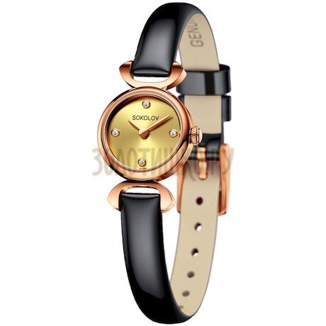 Женские золотые часы 212.01.00.000.02.05.3