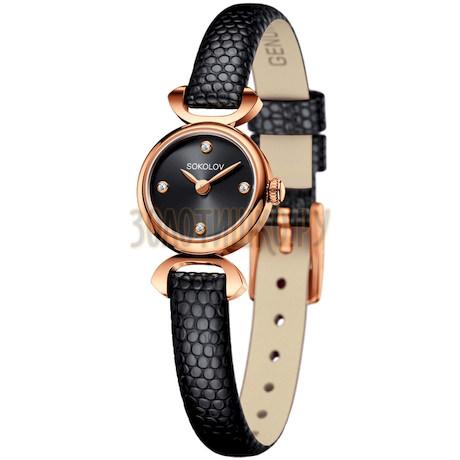 Женские золотые часы 212.01.00.000.03.01.3