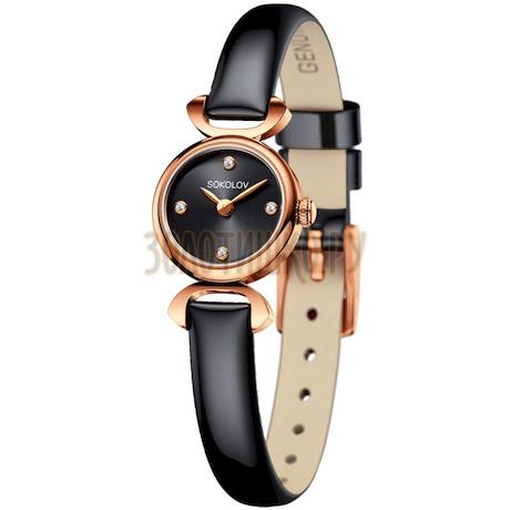 Женские золотые часы 212.01.00.000.03.05.3