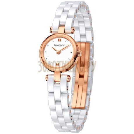 Женские золотые часы 216.01.00.000.01.01.3