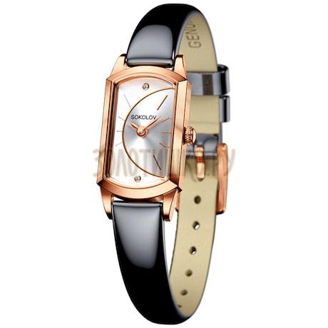 Женские золотые часы 221.01.00.000.04.05.3