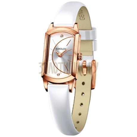 Женские золотые часы 221.01.00.000.04.06.3