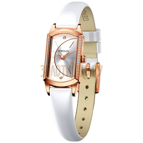 Женские золотые часы 222.01.00.001.04.06.3