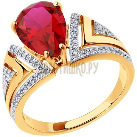 Кольцо из золота 6018009