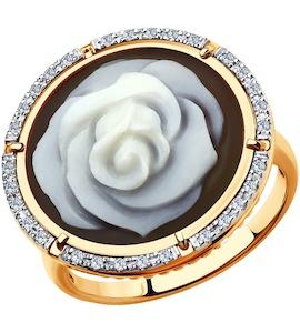 Кольцо из золота с бриллиантами 6019001