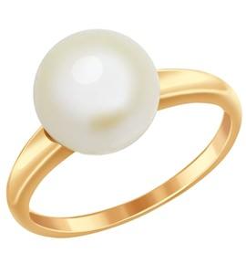 Кольцо из золота с жемчугом 791010