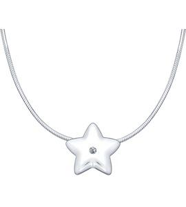 Серебряное колье «Надежда» 87070008
