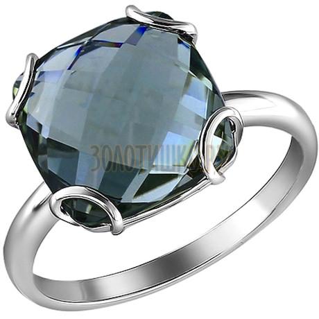 Серебряное кольцо с кварцем 92010692
