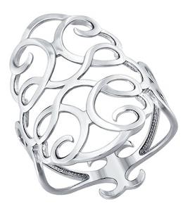 Ажурное кольцо из серебра 94011299