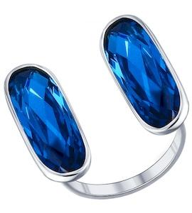 Стильное кольцо с фианитами 94011380