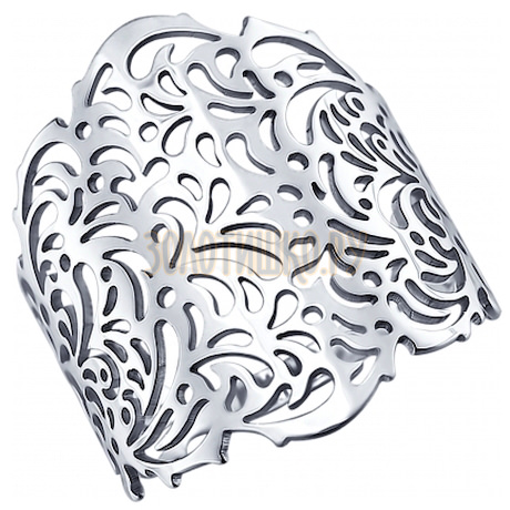 Кольцо из серебра 94011545