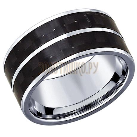 Кольцо из серебра с алмазной гранью 94011740