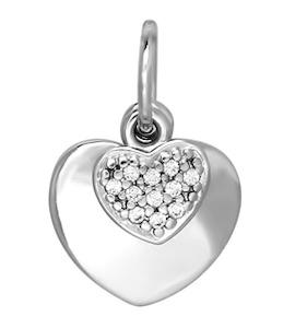 Кулон в форме сердца 94031117