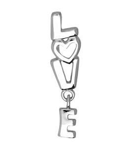 Кулон «Love» 94031130