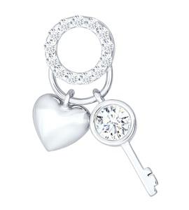 Кулон «Сердце и ключ» 94031180