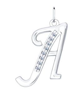 Кулон буква «А» 94031364