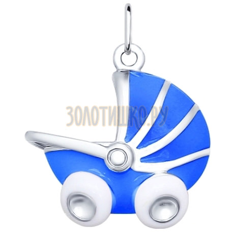 Подвеска в форме детской коляски 94031419