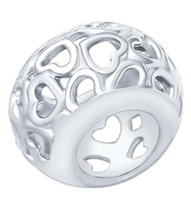 Подвеска-шарм из серебра 94031589