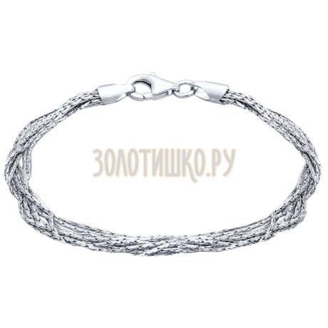 Браслет из серебра 94054565