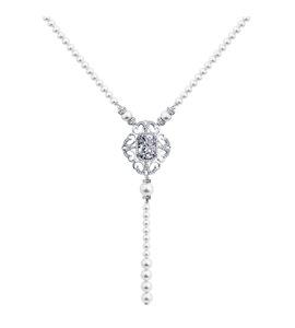 Колье с жемчугом и кристаллами Swarovski 94070074