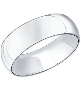 Обручальное кольцо из серебра 94110021