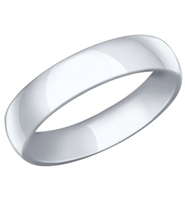 Обручальное кольцо из серебра 94110022