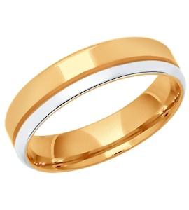 Обручальное кольцо из серебра 94110028